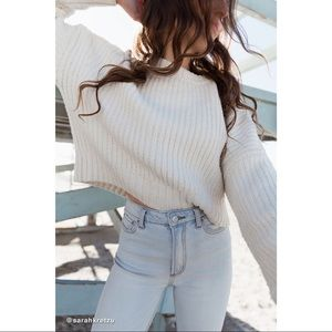 Urban Outfitters Andi Pullover Crew Neck Sweater S